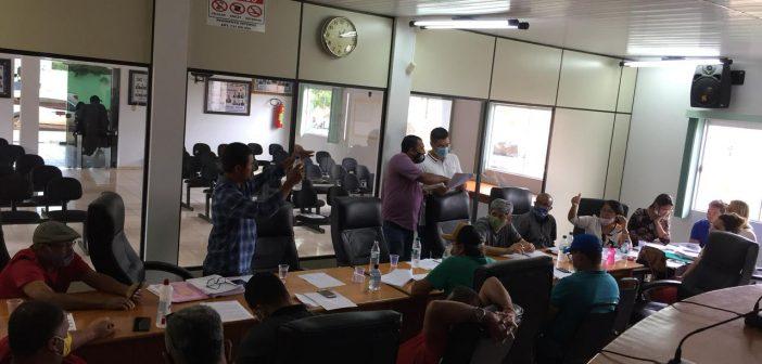 Vereadores em Reunião com Representantes da Educação Municipal